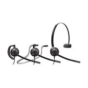 Plantronics EncorePro HW540 Wired Mono Headset - Over-the-head, Behind-the-neck, Over-the-ear - Supra-aural