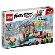 Demolition of Lego Angry Bird pig City 75824 [Parallel import goods]