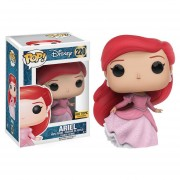 Funko Pop Ariel Pink Dress Hot Topic Exclusive Princess Disney