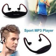 Wireless Bluetooth Sports Headset With Mic (Black)