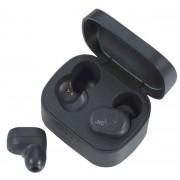 Casti Stereo JVC HA-A10T-B, True Wireless, Bluetooth, Microfon (Negru)