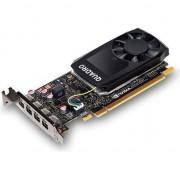 Paca video fujitsu NVIDIA Quadro P1000, 4GB de memorie GDDR5 (128 Bit), 4x miniDP (S26361-F2222-L104)