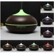 Hidegpárásító készülék Sötét fa-színű, kisgömböc 300 ml-es
