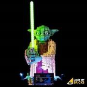 LIGHT MY BRICKS Kit for 75255 LEGO STAR WARS YODA