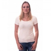 Alan Red Women T-shirt Cindy Off White ( art 2002) - Ecru - Size: Large