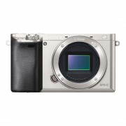 Sony Alpha A6000 ICL systeemcamera Body Zilver - Demomodel