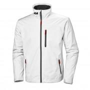 Helly Hansen Mens Crew Midlayer Sailing Jacket White XXL