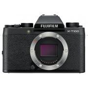 Fujifilm X T100 MILC Body 24.2MP CMOS 6000 x 4000Pixels Zwart