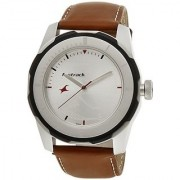 Fastrack Economy 2013 Analog White Dial Mens Watch - 3099Sl01