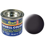 TAR BLACK, MAT 14 ML - REVELL (32106)