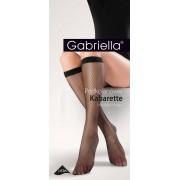 Gabriella - Fishnet knee highs Kabarette