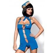 Női erotikus jelmez Air Hostess