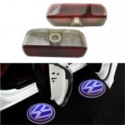 Proiectoare LED Laser Logo Holograme cu Leduri Cree Tip 1, dedicate pentru Volkswagen VW Golf Plus 2005-2007
