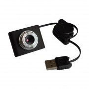 8Mp Mini Webcam Cámara Web Hd Equipo Para Desktop Portátil Usb Plug An