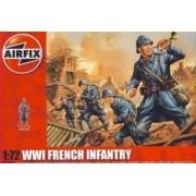 Airfix French Infantry WWI - figurki w skali 1:72 - Airfix A01728