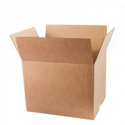 Set 10 Cutii Clasice, 400x300x200 mm, Carton Natur Ondulat in 3 Straturi, Cutie Clasica, Cutie pentru Ambalare si Depozitare, Cutie Carton, Cutie Transport, Arhivare si Organizare