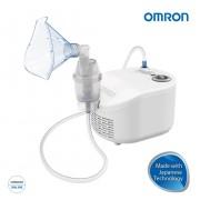 Aparat aerosoli Omron C101 Essential, cu compresor, fabricat in Italia, 3 ani garantie