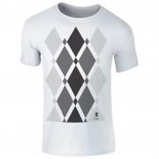T-Junkie Camiseta Begbie Estampado gris - Hombre - Blanco - L - Blanco