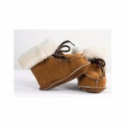 Bernardino Baby pantoffels van lamsleer maat 18