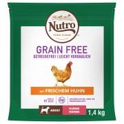Nutro Grain Free Adult Small Dog с пиле - 2 x 7 кг