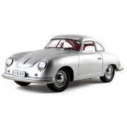 1950 Porsche 356 Coupe , Silver Signature Models 38206 1/18 Scale Diecast Model Toy Car