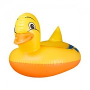 ELECTROPRIME Baby Inflatable PVC Boat Ride On Water Swimming Toy Duck Beach Pool Toy