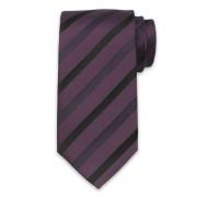Cravată bărbătească violet din mătase 9556