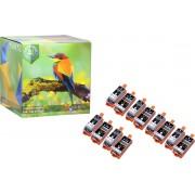 Ink Hero - 12 Pack - Inktcartridge / Alternatief voor de Canon CLI-36, PGI-35, PIXMA iP100, iP110 wb