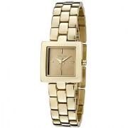 DKNY Quartz Gold Rectangle Women Watch NY4880 DKNY