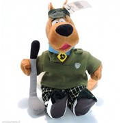 Retired Warner Brothers Scooby Doo Golf Pro 8' Golfing Fanatic Scooby Bean Bag Doll