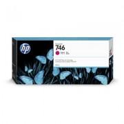 HP Cartuccia di inchiostro magenta 746 DesignJet da 300 ml