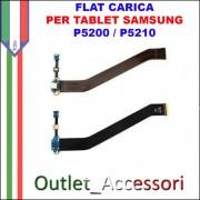 Flat Carica e Microfono Samsung Tab 3 P5200 P5210 Tablet Jack USB Ricarica