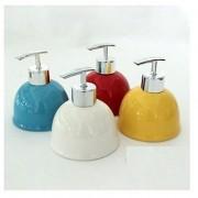 Skywalk High Grade Ceramic Liquid Soap Dispenser Multicolor (1 Pc)