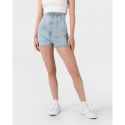 Guess Alexis Shorts blauw Dames Dames