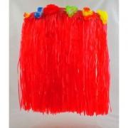 Havajská sukně - červená