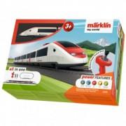 Tren Have Fun de calatori cu sine si telecomanda Swiss Express