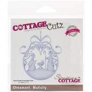 CottageCutz Nativity Ornament Elites Die
