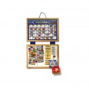 Calendar din lemn magnetic