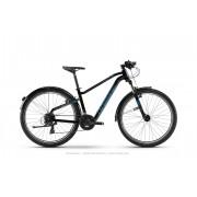 Haibike SEET HardNine 1.5 Street - Schwarz/Blau/Titan - Mountain Bikes 40
