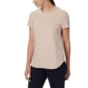 Columbia T-shirt Firwood Camp - Femme Peach Cloud Small XL