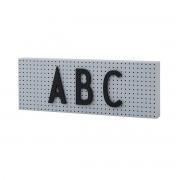 Design Letters - The Sign Nachrichtentafel small, grau