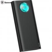 Baterie externa - Baseus Amblight 20000 mAh with LED Neagra 18W