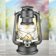 Lampa din metal cu 16 leduri tip felinar