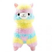 "Cuddly Llama Rainbow Alpaca Doll 7 "" Soft Baby Stuffed Animal Toy Puppet Doll Valentines Day Birthday Xmas Christmas Wedding Anniversary Presents Gifts"