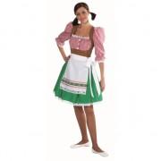 Luxe Tiroler jurkje voor dames