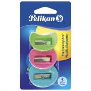 Šiljilo pvc model 101 pk3 Pelikan 700184 blister 000038852