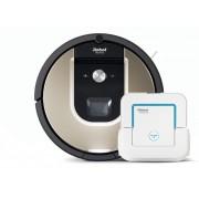Прахосмукачка робот iRobot Roomba 966 + Braava jet 240
