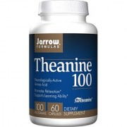 Jarrow Formulas Theanine 100 Promotes Relaxation and Learning Ability 60 Capsules (Pack of 2)