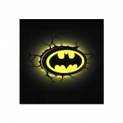 Lampara Batman Logo 3D Deco Light Batman Emblem Super Heroe
