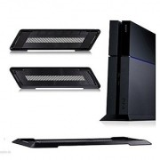 Playstation PS4 Console Air Grille Vertical Stand Mount Holder Base Black